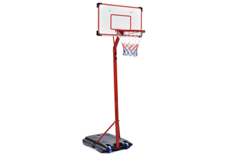 Kids Basketball Outdoor Hoop - 1.7 - 2.16m Adjustable Height