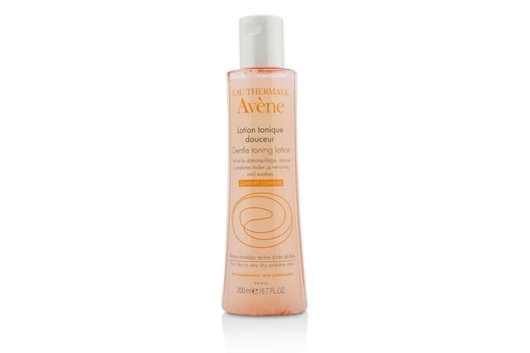 Avene Gentle Toning Lotion - For Dry to Very Dry Sensitive Skin 200ml