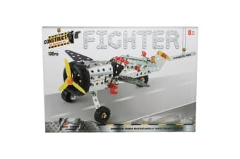 Construct It Fighter Plane Set with 135 Pieces