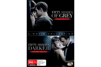 Fifty Shades 2 Movie Collection Box Set with Digital Download DVD Region 4