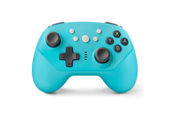 Select Mall Wireless Controller for Switch Pro Switch Controller with Adjustable Vibration for Switch Controller-Blue