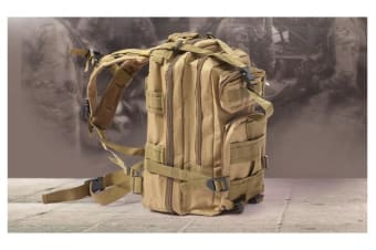 35L Hiking Camping Military Backpack KAHKI