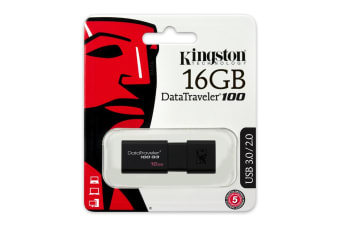 Kingston Technology DataTraveler 100 G3 USB flash drive 16 GB USB Type-A 3.2 Gen