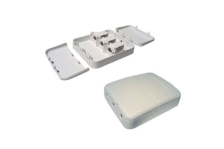 CABAC Tamper Proof Surface Mount Box 3 Way stops people swapping leads SMBC63TP