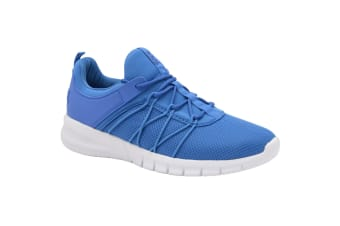 Lonsdale Mens Epic Trainers (Blue/White)
