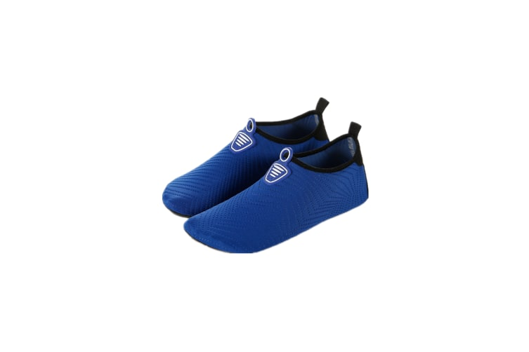 Water Socks Soft Slippers Sports Aqua Shoes Wading Diving Shoes Barefoot Shoes Navy 26-27