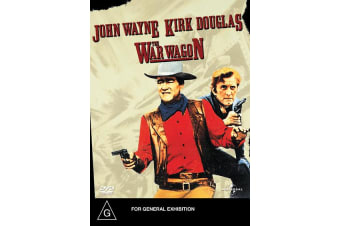 The War Wagon DVD Region 4