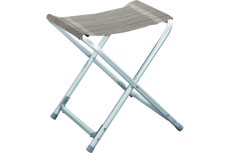 Brunner Kerry Compact Folding Camping Stool (Platinum) (One Size)