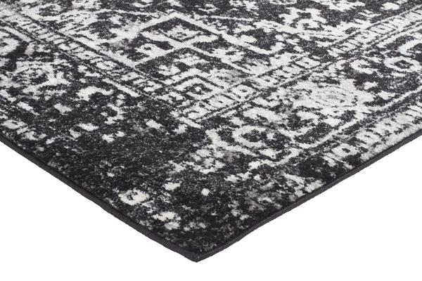 Scape Charcoal Transitional Rug 500x80cm