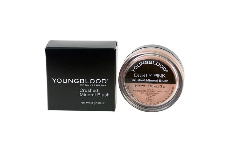 Youngblood Crushed Loose Mineral Blush - Dusty Pink 3g