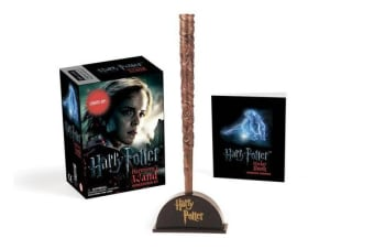 Harry Potter Hermione's Wand with Sticker Kit - Lights Up!