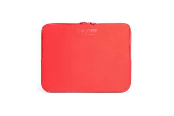 """Tucano 11.6-12.5"""" Colore Sleeve- Red"""