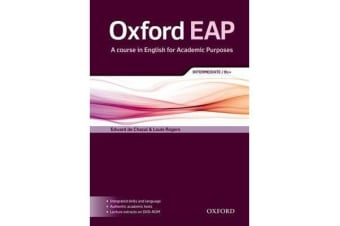 Oxford EAP - Intermediate/B1+: Student's Book and DVD-ROM Pack
