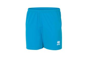 Errea Mens New Skin Football Shorts (Cyan)