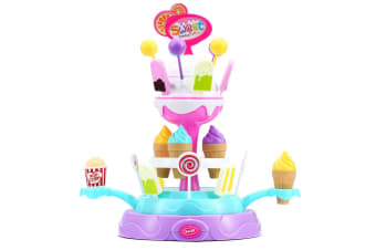 Pretend Candy Ice Cream 360° Rotating Platform with Sound and Music