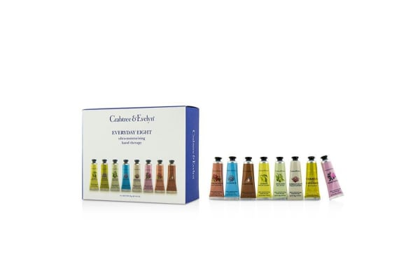 Crabtree & Evelyn Everyday Eight Ultra-Moisturising Hand Therapy Set (8pcs)