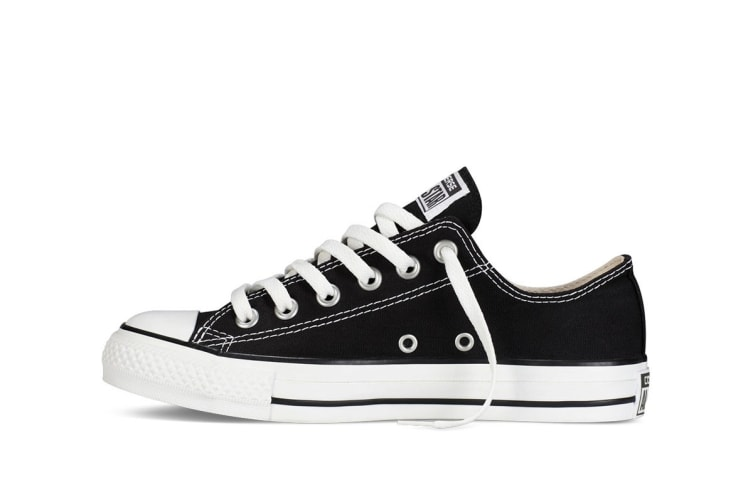 Converse Chuck Taylor All Star Ox Lo (Black, US Mens 9 / US Womens 11)