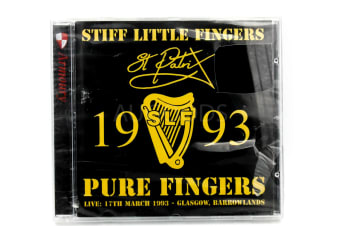Stiff Little Fingers- 1993 BRAND NEW SEALED MUSIC ALBUM CD - AU STOCK