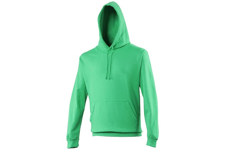 Awdis Unisex College Hooded Sweatshirt / Hoodie (Kelly Green) (L)