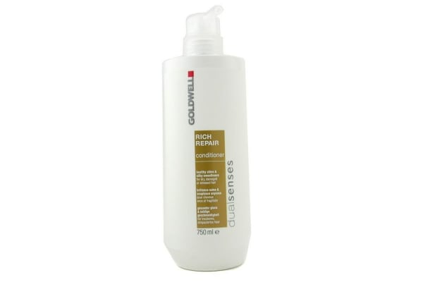 Goldwell Dual Senses Rich Repair Conditioner (For Dry, Damaged or Stressed Hair) (750ml/25oz)