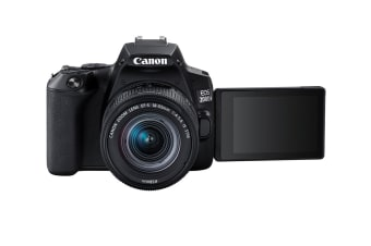 Canon EOS 200D Mark II with EF-S 18-55mm f/4-5.6 IS STM Lens & 4K Movie Shooting