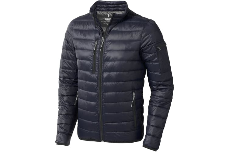 Elevate Mens Scotia Light Down Jacket (Navy) (XXXL)