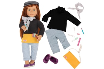 Our Generation Sabina Doll with Read and Play Set