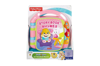 Fisher Price Laugh and Learn Storybook Rhymes in Pink