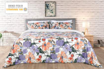Ovela 400TC 100% Cotton Keukenhof Cotton Quilt Cover Set