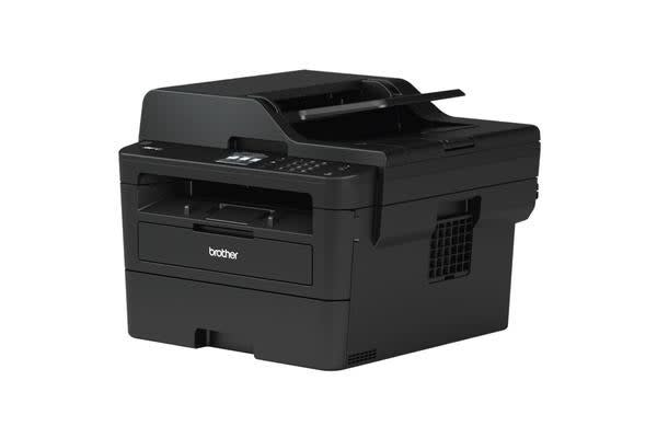 Brother L2730DW A4 Wireless Compact Mono Laser Printer All-in-One with 2-Sided Printing & 2.7' Touch Screen