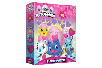 46pc Hatchimals Floor Jigsaw Puzzle Game Kids/Child Educational Toys 3y+ w/ Box