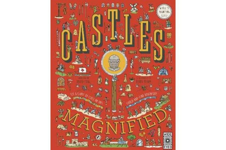 Castles Magnified - With a 3x Magnifying Glass!