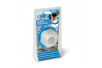 Chill Out Ice Dog Ball - 9cm White (All For Paws)