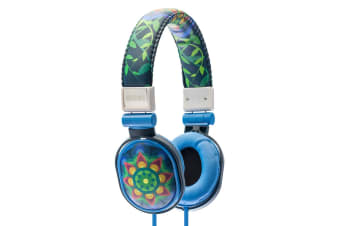 Moki Poppers Over Ear Headphones - Mandala (ACCHPP17L)