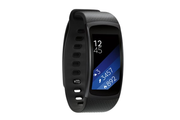 Samsung Gear Fit2 (Large, Black)