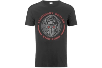 Guardians Of The Galaxy Vol. 2 Mens Legendary Outlaw T Shirt (Charcoal)