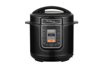 Healthy Choice Pressure Cooker - Black (PC600B)