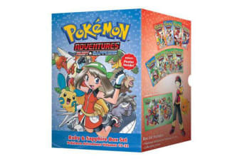 Pokemon Adventures Ruby & Sapphire Box Set - Includes Volumes 15-22