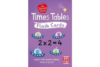I'm Starting School: Times Tables Flash Cards - Essential flash cards for times tables from 1 to 12