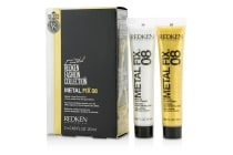 Redken Fashion Collection Metal Fix 08 Metallic Liquid Pomade (For Runway-Ready Silver and Gold Effects) (2x20ml/0.68oz)