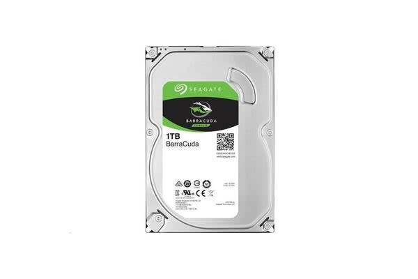 Seagate BarraCuda, 1TB  SATA3 3.5 inch7200RPM  64MB  Internal HDD