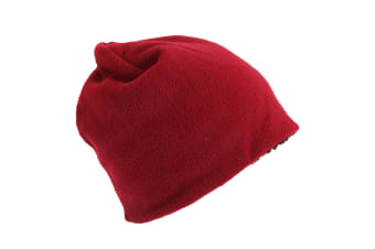 RockJock Adults Unisex Thermal Winter Beanie (Red) (One Size)