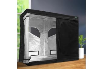 2.4m x 1.2m x 2m Hydroponics Grow Tent Kits Indoor Grow System