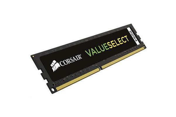 Corsair Value Select Black DDR4 2133MHZ 8GB 1x288 DIMM 1.20V Unbuffered 15-15-15-36