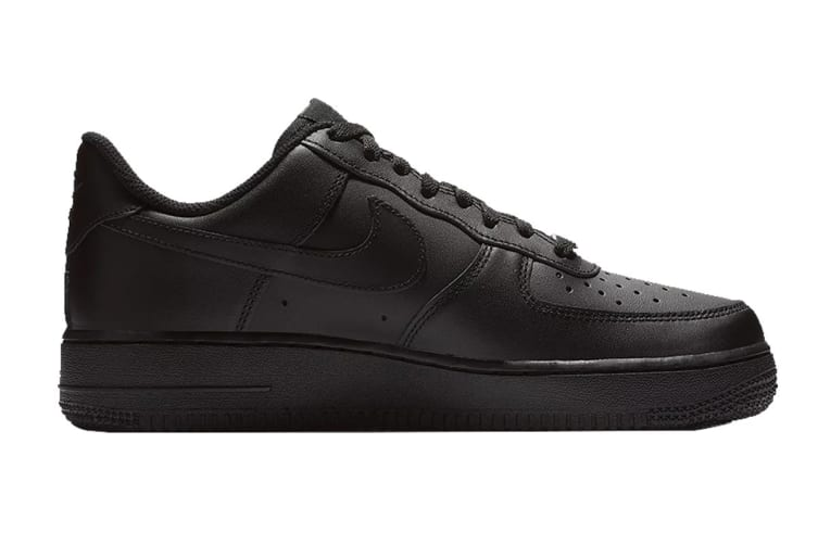 Nike Women's Air Force 1 (Black, Size 7 US)