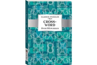 Classic Puzzles - Crossword Teal Wallpaper (pack 1)