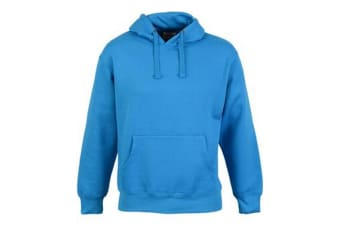 Casual Classic Mens Pullover Hood (Sapphire) (M)