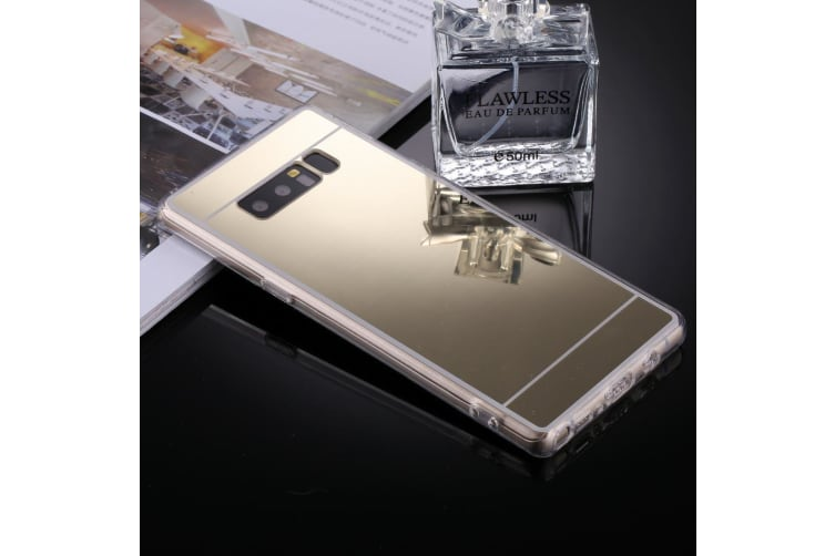 For Samsung Galaxy Note 8 Case Stylish Electroplating Protective Cover Gold