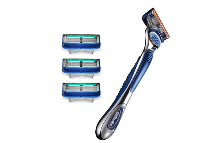 Gillette Fusion 2 Razor Handle w/ 8 Cartridges Shaving Blades/Trimming for Men