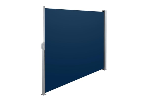 Retractable Side Awning Shade 180cm (Blue)